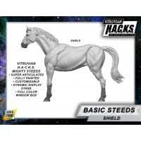 MIGHTY STEEDS - BASIC HORSE - SHIELD