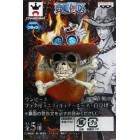 Pingente One Piece - Mini Figure - Ace -Shirohige
