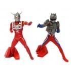 ULTRAMAN LEO e TECHTOR GEAR ZERO - DG Ultraman 4  GASHAPON