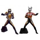 DARKLOPS ZERO e TECHTOR GEAR BLACK  - DG Ultraman 4  GASHAPON