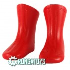 Bota Futurista vermelha - Grungatoys