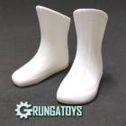 Bota Futurista branca - Grungatoys